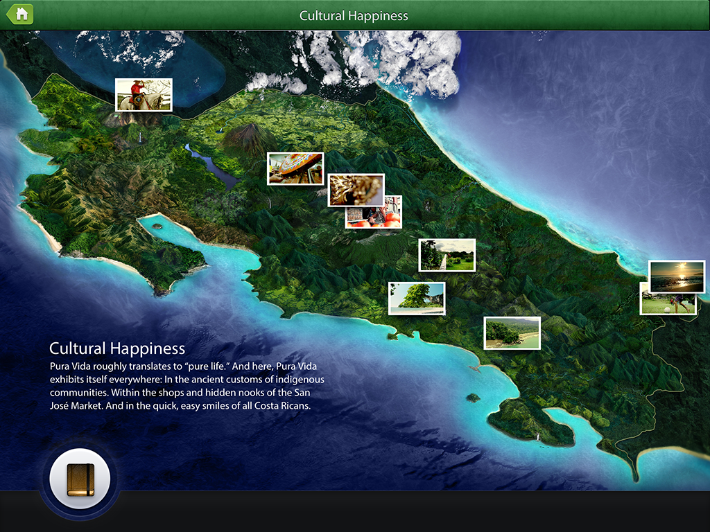 Costa Rica Tourism Board Launches New Travel iPad App – Tourist Map Of Costa Rica