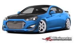 1000hp Hyundai Genesis Coupe SEMA Show