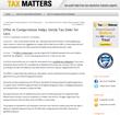 Tax Defense Matters Blog