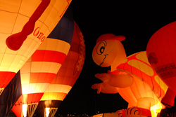 Special Shape balloons are always a delight at the Albuquerque International Balloon Fiesta. Photo by Raymond Watt.