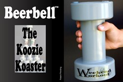 Beerbell, beer koozie, tailgating, Kickstarter