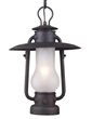 Landmark Lighting Chapman 1-Light Pendant in Matte Black 65006-1