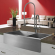 Vigo VG02006ST - stainless steel pull-down spray kitchen faucet