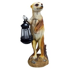 Meerkat Solar Light with Lantern