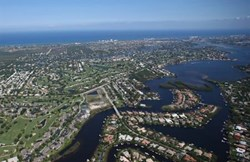 Aerial View of Old Cypress Pointe - Tequesta, FL