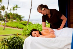Hawaii spa treatments at Willow Stream Spa at Fairmont Kea Lani, Maui