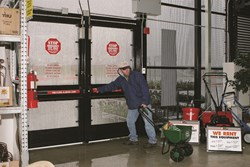 Detex's Weatherized Outdoor Area System provides security for outdoor retail areas