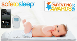 SafeToSleep Baby Monitor Named Finalist in SheKnows.com Parenting Award