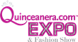 Quinceanera.com Expo and Fashion Show logo.