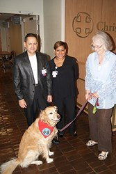 therapy dogs at CarePoint Health