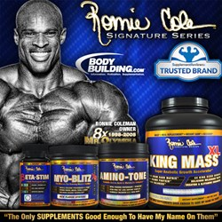 Ronnie Coleman Signature Series™ Launches on Bodybuilding.com™ Amidst Receiving Trusted Brand Award and Revealing 4 New Revolutionary Sports Nutrition Products