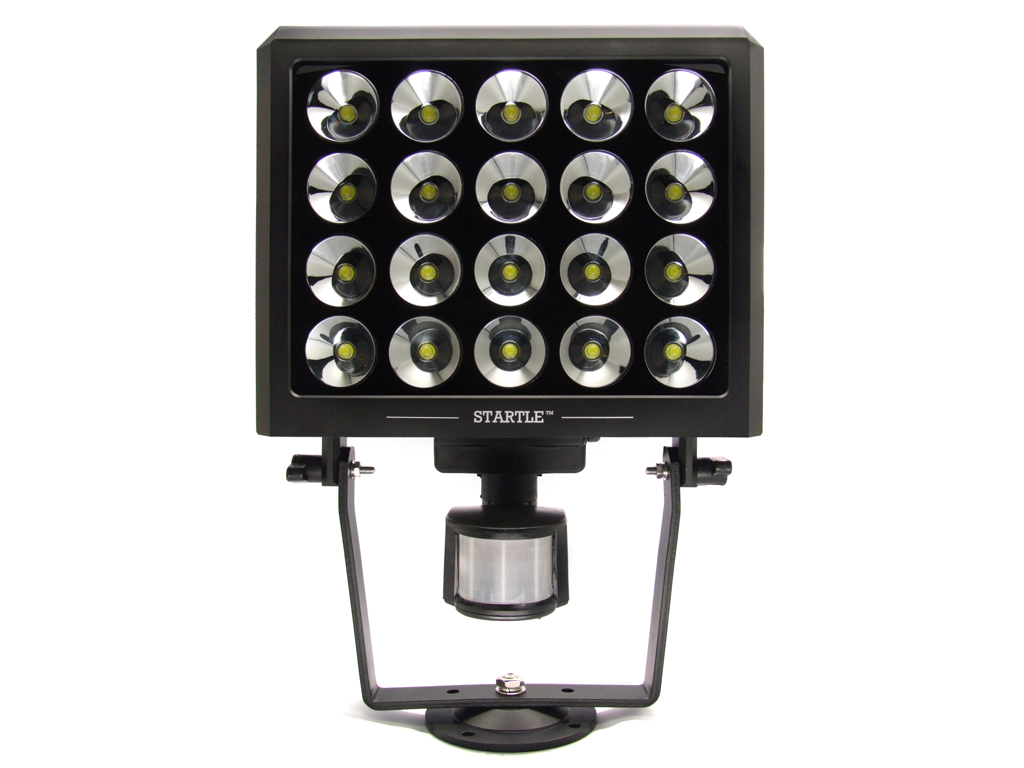 Global security experts announces new led outdoor security light global security experts announces new led outdoor security light aimed to startle off intruders aloadofball Image collections