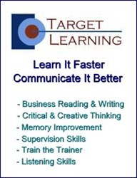 Target Learning: learn your own personal learning and thinking style