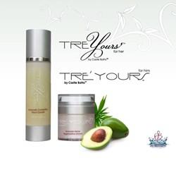 sensitive skin care by castle baths tre'yours
