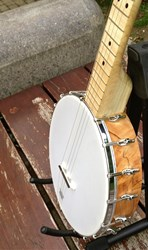 Shackleton banjo, second prototype