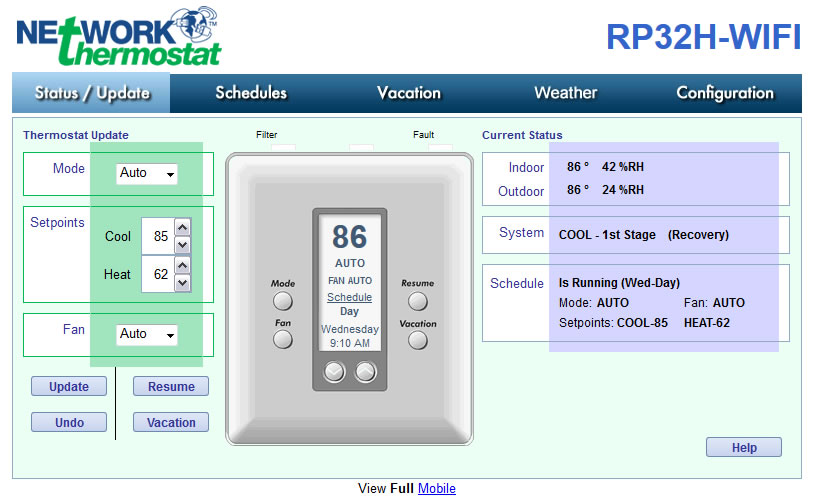 Networkthermostat Announces Two New Thermostats Rp32h
