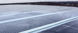 Novartis Photovoltaic Skylight executed by Onyx Solar