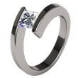 Titanium Engagement Rings Trends for 2013