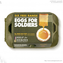Eggs For Soldiers by Springetts Brand Design Consultants