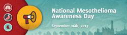 Mesotheloima Awareness Day September 26