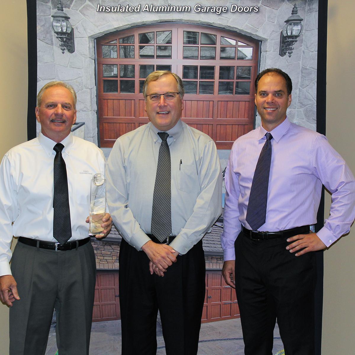 Left To Right: Steve DeWitt U2013 CEO, Jeff Hohman U2013 President, Scott DeWitt U2013  Vice PresidentPhotos Of Northwest Dooru0027s Executive Leadership With The 2013  ...