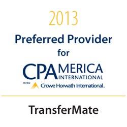 TransferMate, CPAmerica Preferred Provider