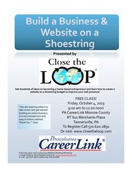 Close the Loop Website Building Workshop