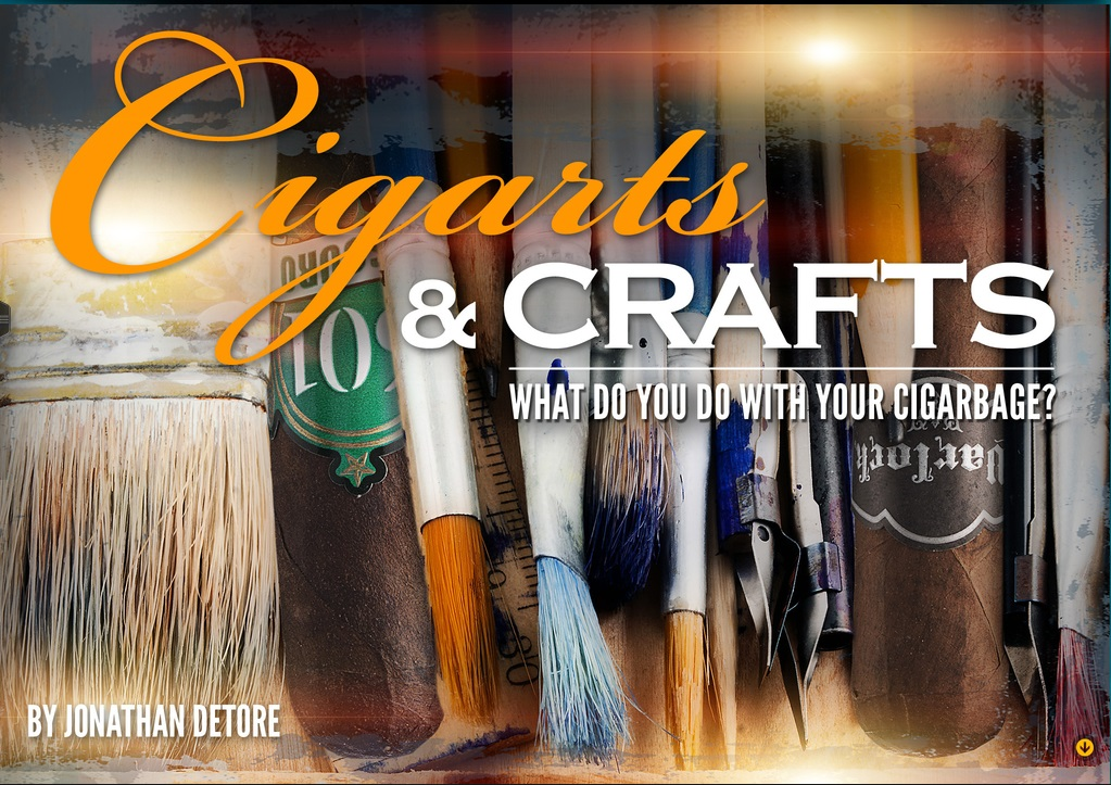 Cigar Advisor Publishes Article On Craft Projects From