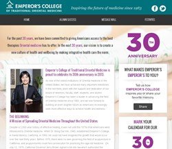 Emperor's College 30th Anniversary Celebration Online Hub
