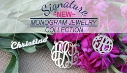 Three Hip Chicks Signature Monogram Jewelry Collection