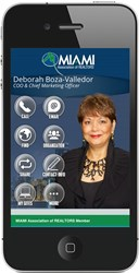 The SavvyCard for MIAMI COO & Chief Marketing Officer Deborah Boza-Valledor