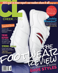CheerLiving magazine released its second issue
