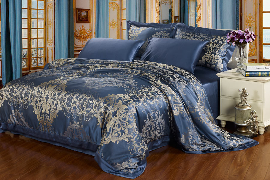 A Wide Color Range Of Silk Sheet Sets Are Available At
