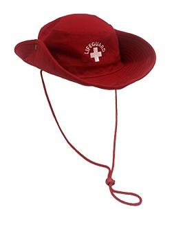 94515ecccb770 LIFEGUARD BUCKET HATSThe lifeguard bucket hat with pull down string ...