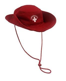 LIFEGUARD BUCKET HATSThe lifeguard bucket hat with pull down string ... a263e4d5f01