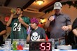 Action from 2012's National Oktoberfest Bratwurst Eating Championship