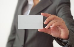Guy With Business Card