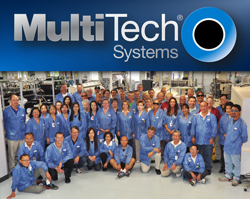 Members of the Multi-Tech Systems Manufacturing Team