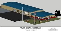 Superior Sauna's new 24,000 sq ft facility