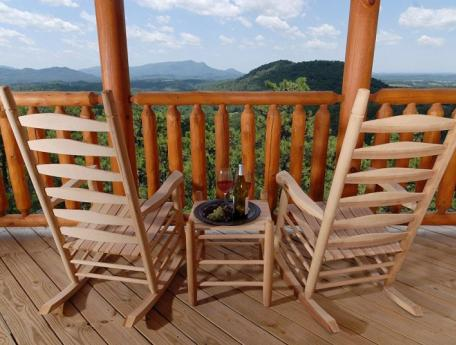 Timber tops luxury cabin rentals names dollywood harvest for Timber tops cabins gatlinburg
