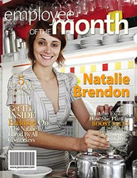 Employee of the Month Magazine Cover from YourCover