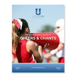 Cheerleading Blog University releases a new eBook with a redesigned look