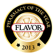 FLAVORx Independent Pharmacy of the Year Logo