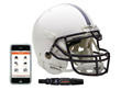 Shockbox football helmet sensors and smartphone app