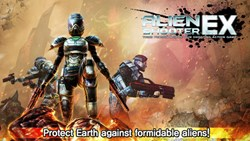 Alien Shooter Ex offers a expansive 3D world with 25 stages.