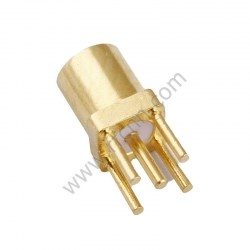 MMCX Female for PCB Round foot RF Connector