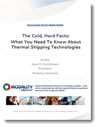 Thermal Shipping White Paper