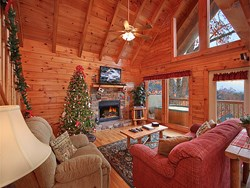Families choosing to stay inside one of Cabin Fever Vacation's specialty decorated Gatlinburg and Pigeon Forge cabins this holiday season are sure to return home with fond memories that will last for years to come.