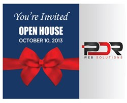 pdr web solutions open house invitation