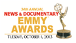 34th Annual News and Documentary Emmys New York City